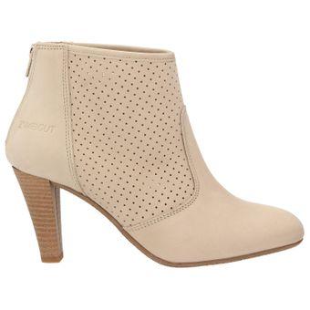 ZWEIGUT® -Hamburg- komood #310 Damen Sommer Stiefelette Schuh extrem komfort Nubukleder auf flexibler Sohle atmungsaktiv – Bild 3