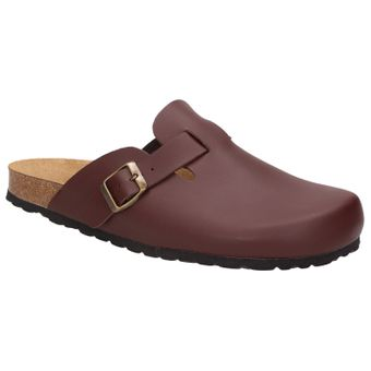 BOWS® Schuhe -HEINZ- Herren Hausschuhe Clogs Pantoffeln Puschen Latschen Slipper Leder-Fußbett rutschhemmend – Bild 7