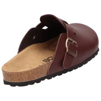 BOWS® Schuhe -HEINZ- Herren Hausschuhe Clogs Pantoffeln Puschen Latschen Slipper Leder-Fußbett rutschhemmend – Bild 9