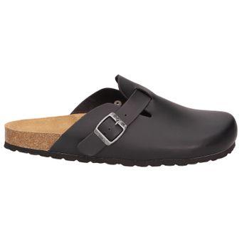 BOWS® Schuhe -HEINZ- Herren Hausschuhe Clogs Pantoffeln Puschen Latschen Slipper Leder-Fußbett rutschhemmend – Bild 2