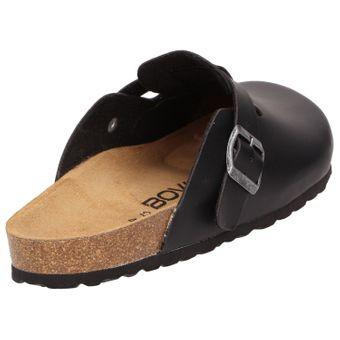 BOWS® Schuhe -HEINZ- Herren Hausschuhe Clogs Pantoffeln Puschen Latschen Slipper Leder-Fußbett rutschhemmend – Bild 3
