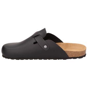 BOWS® Schuhe -HEINZ- Herren Hausschuhe Clogs Pantoffeln Puschen Latschen Slipper Leder-Fußbett rutschhemmend – Bild 4