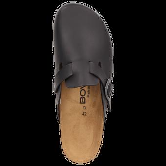 BOWS® Schuhe -HEINZ- Herren Hausschuhe Clogs Pantoffeln Puschen Latschen Slipper Leder-Fußbett rutschhemmend – Bild 5