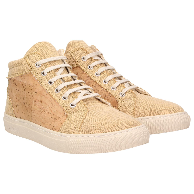 sale retailer fce84 bbe25 ZWEIGUT® -Hamburg- echt #403 Damen High-Top Kork Sneaker ...