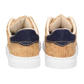ZWEIGUT® -Hamburg- echt #401 Kork Allwettertauglich Schuhe Damen Halbschuhe Sneaker, vegan + nachhaltig aus echtem Kork – Bild 5
