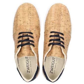 ZWEIGUT® -Hamburg- echt #401 Kork Allwettertauglich Schuhe Damen Halbschuhe Sneaker, vegan + nachhaltig aus echtem Kork – Bild 6