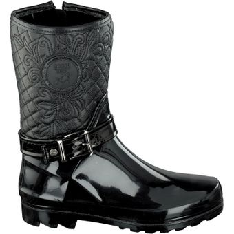 Gosch Shoes Sylt Damen Stiefel 7102-503 Winter Boots Steppoptik Herbst Winter Regen  – Bild 15