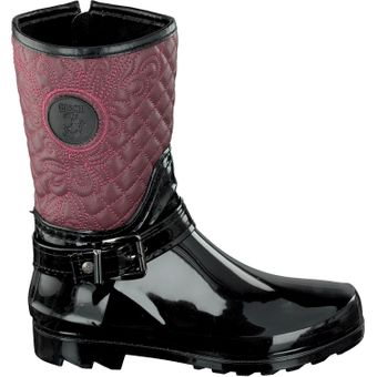Gosch Shoes Sylt Damen Stiefel 7102-503 Winter Boots Steppoptik Herbst Winter Regen  – Bild 8