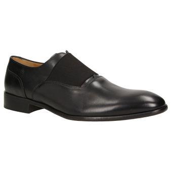 ZWEIGUT® -Hamburg- smuck #253 Herren Derby Leder Business Schuhe mit Gummizug – Bild 2