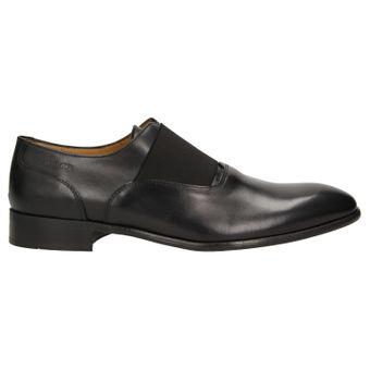 ZWEIGUT® -Hamburg- smuck #253 Herren Derby Leder Business Schuhe mit Gummizug – Bild 3