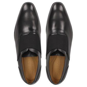 ZWEIGUT® -Hamburg- smuck #253 Herren Derby Leder Business Schuhe mit Gummizug – Bild 6