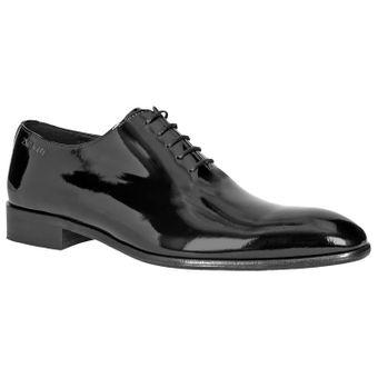 ZWEIGUT® -Hamburg- piekfein #105 Herren Lack Leder Schuh Original wholecut oxford – Bild 2