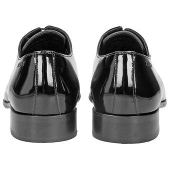 ZWEIGUT® -Hamburg- piekfein #105 Herren Lack Leder Schuh Original wholecut oxford – Bild 5