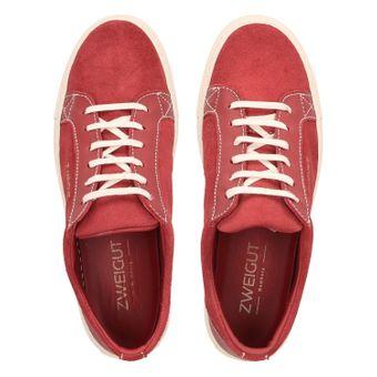 ZWEIGUT® -Hamburg- echt #412 Herren Leder-Sneaker aus dem Leder alter Autositze Schuhe upcycling und nachhaltig – Bild 6