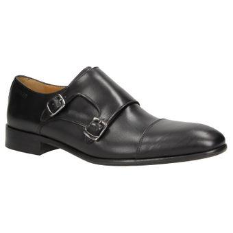 ZWEIGUT® -Hamburg- smuck #257 Schuhe Monkstrap Herren Double Monk-Strap Leder Schuh Business Shoe Slipper – Bild 2