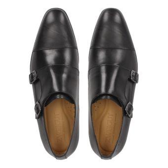 ZWEIGUT® -Hamburg- smuck #257 Schuhe Monkstrap Herren Double Monk-Strap Leder Schuh Business Shoe Slipper – Bild 7