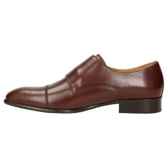ZWEIGUT® -Hamburg- smuck #257 Schuhe Monkstrap Herren Double Monk-Strap Leder Schuh Business Shoe Slipper – Bild 4