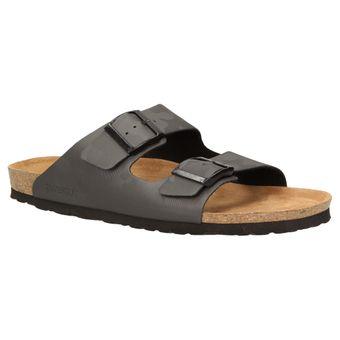 ZWEIGUT® luftig #532 Herren Pantolette Schlappen Hausschuh,Sommer Garten Sandale 2-Riemer Schuhe Camouflage – Bild 2