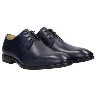 ZWEIGUT® -Hamburg- smuck #270 Herren Business Leder Schuhe Derby Komfort-König Sneaker-Gefühl 001
