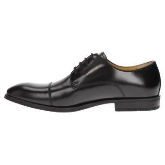 ZWEIGUT® -Hamburg- smuck #272schwarz Herren Leder Cap-Toe Derby Business Schuhe Komfort-König Sneaker-Gefühl Leicht Flexibel – Bild 4