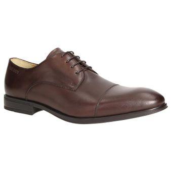 ZWEIGUT® -Hamburg- smuck #272 Herren Leder Cap-Toe Derby Business Schuhe Komfort-König Sneaker-Gefühl Leicht Flexibel – Bild 2
