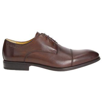 ZWEIGUT® -Hamburg- smuck #272 Herren Leder Cap-Toe Derby Business Schuhe Komfort-König Sneaker-Gefühl Leicht Flexibel – Bild 3