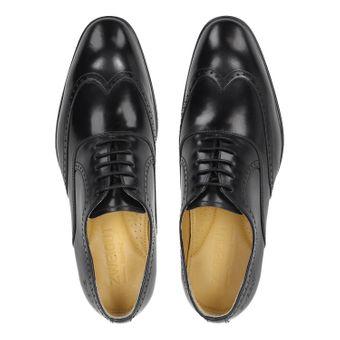 ZWEIGUT® smuck #273 Herren Business Half Brogue Oxford Komfort-König Schuh Leder Sneaker-Komfort Bequemschuhe – Bild 6