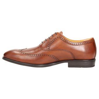 ZWEIGUT® smuck #273 Herren Business Half Brogue Oxford Schuh Leder Komfort-König Sneaker-Gefühl Bequemschuhe – Bild 4