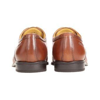 ZWEIGUT® smuck #273 Herren Business Half Brogue Oxford Schuh Leder Komfort-König Sneaker-Gefühl Bequemschuhe – Bild 5