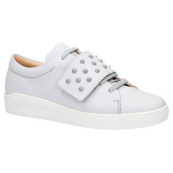 ZWEIGUT® komood #335 Damen Leder Sneaker Sommer Schuh Schnürer Klett leicht Pastell Skandinavisch – Bild 2
