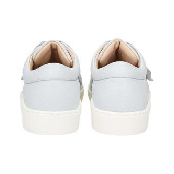 ZWEIGUT® komood #335 Damen Leder Sneaker Sommer Schuh Schnürer Klett leicht Pastell Skandinavisch – Bild 5
