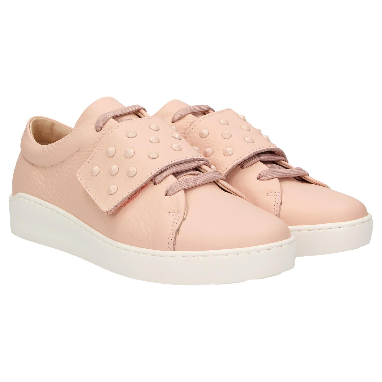 detailed look 9791a a278c ZWEIGUT® komood #335 Damen Leder Sneaker Sommer Schuh ...