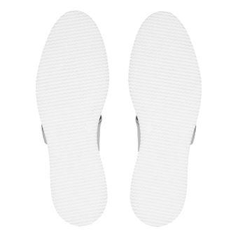 ZWEIGUT® smuck #245 Damen Sommer Schuh Leder Sandale Klett Sneaker metallic – Bild 7