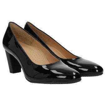 ZWEIGUT® smuck #214 ACHTUNG GRÖßENWANDEL Damen Leder Pumps Nappaleder Sommer Business Schuhe Komfort Laufsohle 001