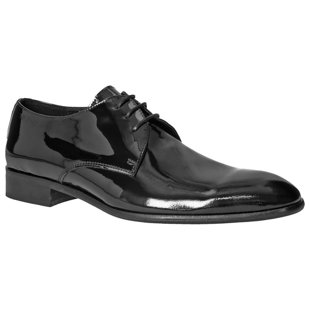 wholesale dealer e68ca 8e452 ZWEIGUT® piekfein #101W Herren Lack Derby Schuhe Smoking ...