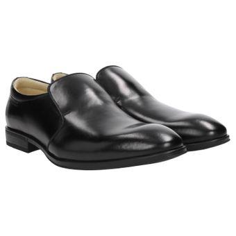 ZWEIGUT® smuck #274 Herren Business Leder Loafer Schuh Slip-On leicht Komfort-König 001