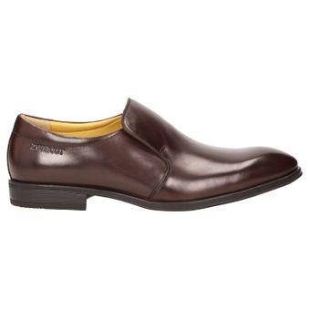 ZWEIGUT® smuck #274 Herren Business Leder Loafer Schuh Slip-On leicht Komfort-König Gummisohle – Bild 3