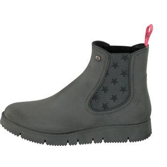 Gosch Shoes Sylt Damen Stiefeletten Chelsea Boots 7105-320 Schuhe schwarz Gummisohle Freizeit Spaziergang Gummi Strand Regen – Bild 2