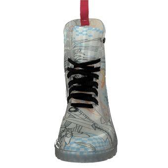 Gosch Shoes Sylt Damen Booty transparent 7105-155 Schuhe Freizeit Spaziergang Schnürschuh Gummi Strand Regen – Bild 19