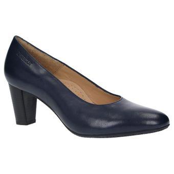 ZWEIGUT® smuck #214 ACHTUNG GRÖßENWANDEL Damen Leder Pumps Nappaleder Sommer Business Schuhe Komfort Laufsohle – Bild 2