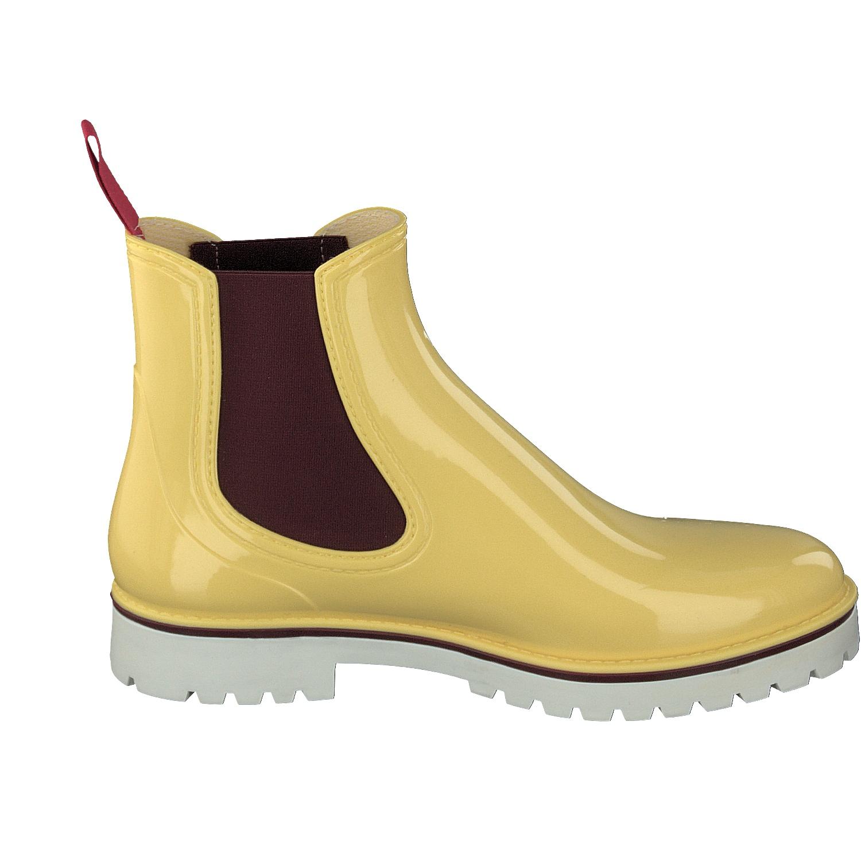 ea6aa66c1dbe53 Gosch Shoes Sylt Damen Chelsea Boots 7105-335 Gummi Freizeit Regen ...