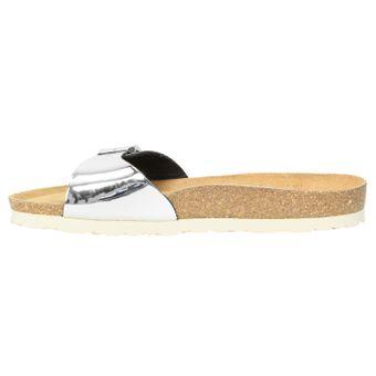 ZWEIGUT® -Hamburg- luftig #551 Damen 1- Riemen Sandalen Schuhe Sommer mit Leder-Komfort-Fußbett – Bild 4