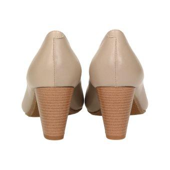 ZWEIGUT® smuck #214 ACHTUNG GRÖßENWANDEL Damen Leder Pumps Nappaleder Sommer Business Schuhe Komfort Laufsohle – Bild 5