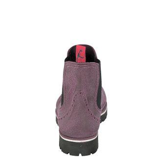 Gosch Shoes Sylt Damen Chelsea Boots 71051-335B Bordeaux Gummi Freizeit Regen Strand – Bild 3