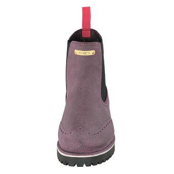 Gosch Shoes Sylt Damen Chelsea Boots 71051-335B Bordeaux Gummi Freizeit Regen Strand – Bild 5