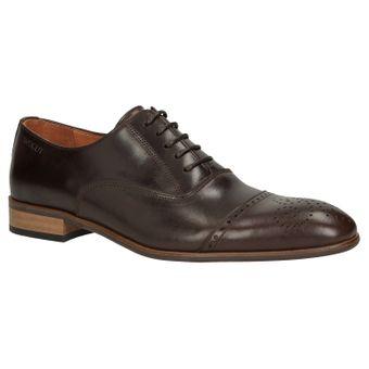 ZWEIGUT® -Hamburg- smuck #259 Herren Leder Schuh Oxford Round Cap-Toe Business  – Bild 2