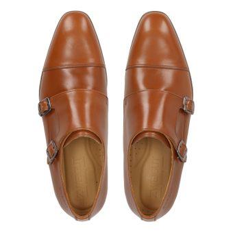ZWEIGUT® -Hamburg- smuck #257W Schuhe Monkstrap Herren Double Monk-Strap Leder Schuh Business Shoe Slipper – Bild 6