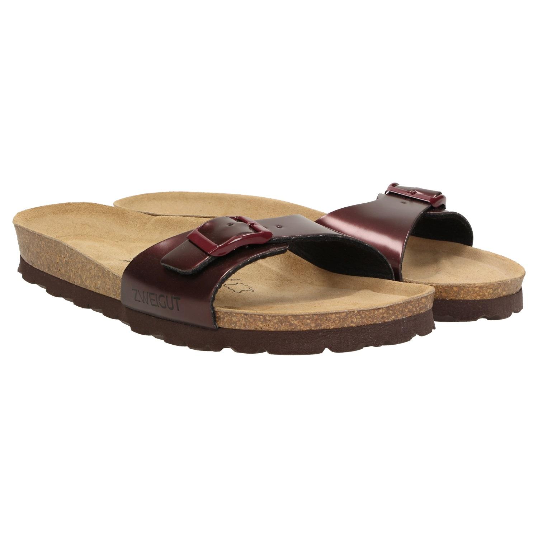 buy online 67051 cb796 ZWEIGUT® luftig #551 Damen 1- Riemen Sandalen Schuhe Sommer ...
