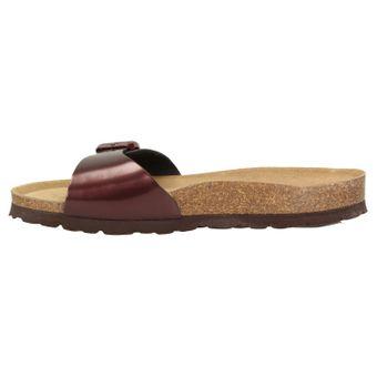 ZWEIGUT®  luftig #551 Damen 1- Riemen Sandalen Schuhe Sommer mit Leder-Komfort-Fußbett – Bild 4