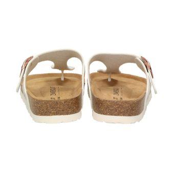 ZWEIGUT® -Hamburg- luftig #555 Damen Zehentrenner Sandalen Schuhe Sommer mit Leder-Komfort-Fußbett – Bild 5